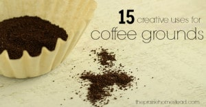 15 Creative Uses For Used Coffee Grounds
