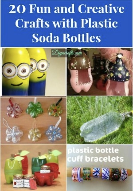20 Fun & Creative Crafts With Plastic Bottles