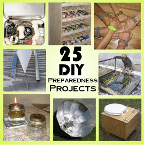 25 Weekend DIY Projects For Preparedness