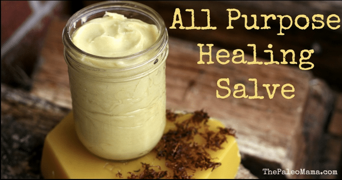 All-Natural Healing Salve