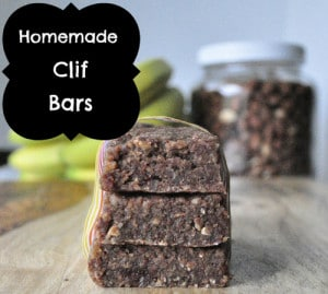 Homemade Clif Breakfast Bars