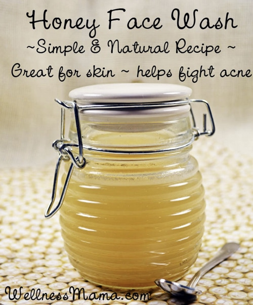 Homemade Honey Face Cleanser