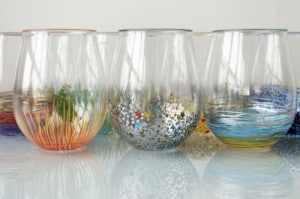How To Add Color To Your Glassware