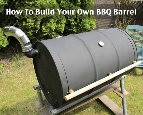 How To Build A BBQ Grill Barrel