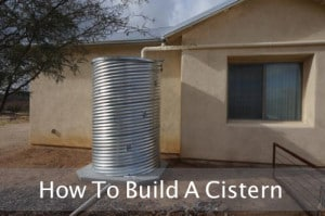 How To Build A Cistern From Corrugated Road Culvert