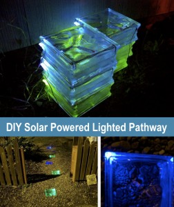 How To Make A Solar Powered Lighted Walkway