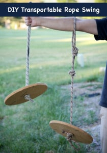 How To Make A Transportable Rope Swing Seat