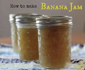 How To Make Banana Jam