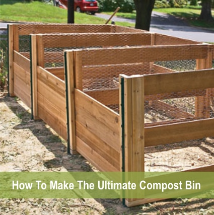 How To Make The Ultimate Homemade Compost Bin