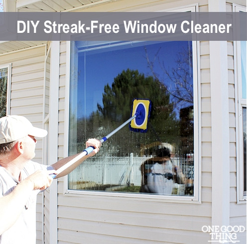 DIY Streak-Free Window Cleaner