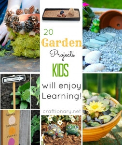 20 Gardening Projects Your Kids Will Love