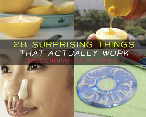 28 Surprising Tips & Tricks That Actually Work