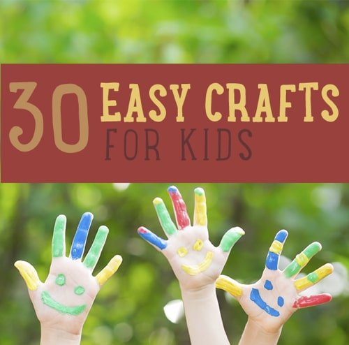 30-Easy-Craft-Projects-For-Kids
