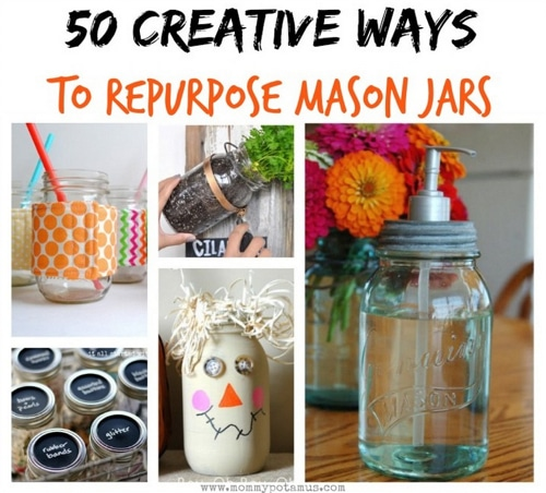 50 Creative Ways To Use Mason Jars