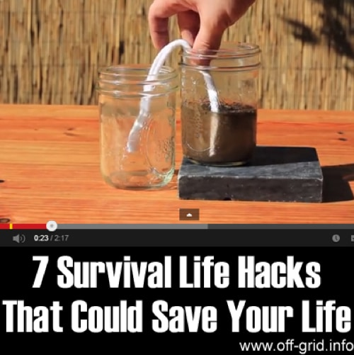 survival hacks, bug out bag, survivalkit, post apocalypse survivor   Photo by:  off-grid.info