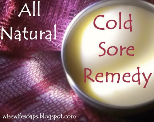 All Natural Cold Sore Remedy