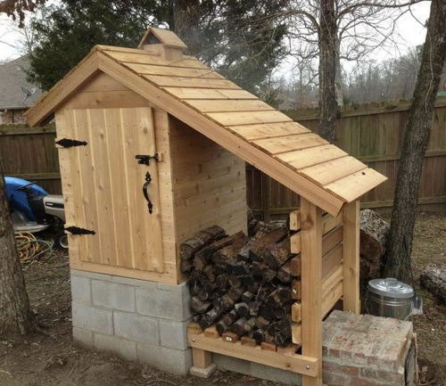 DIY-Cedar-Smoke-House