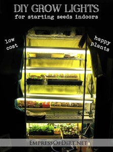 DIY Grow Lights For Starting Seeds Indoors
