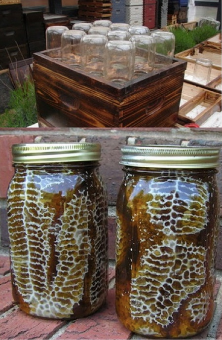 How-To-Make-A-Beehive-In-A-Jar