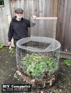 How To Make A Compost Bin From Hardware Cloth