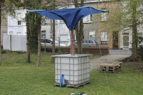 How To Make A Standalone Rainwater Collector