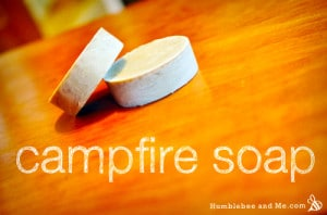 How To Make Campfire Soap