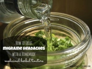 How To Make A Herbal Tincture For Migraine Relief