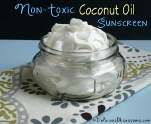 How To Make Non-Toxic Coconut Oil Sunscreen