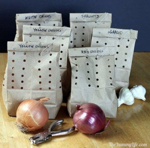 How To Store Onions, Garlic, And Shallots