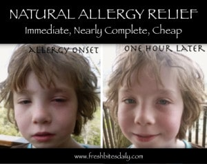 Best Natural Allergy Relief That's So Complete & Immediate, It May Blow You Away!