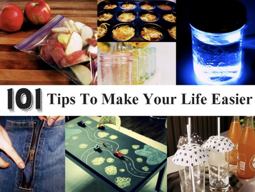 101-Tips-To-Make-Your-Life-Easier