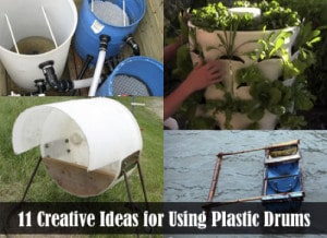 11 Genius Ways To Reuse Large Plastic Drums