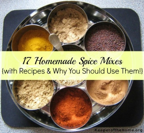17 Homemade Spice Mixes