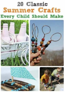 20 Classic Summer Crafts Every Child Should Make