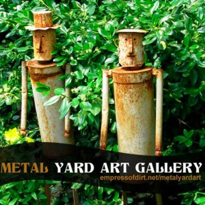 Gallery of Metal Yard Art