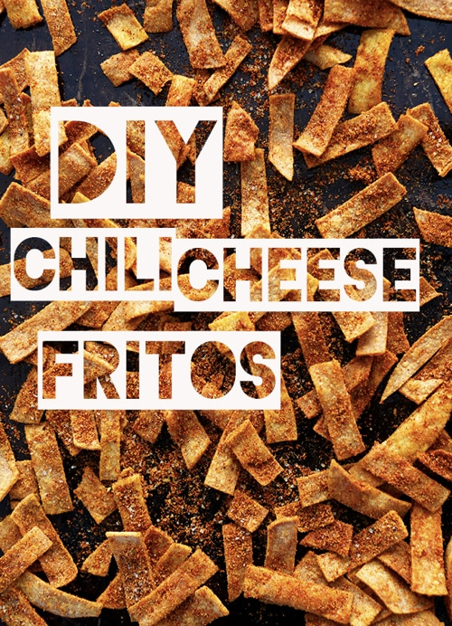 Homemade Baked Chili Cheese Fritos
