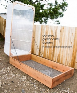 How To Build A Covered Greenhouse