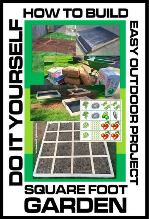 How-To-Build-A-Square-Foot-Garden
