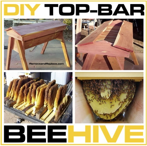 How To Build A Top-Bar Beehive