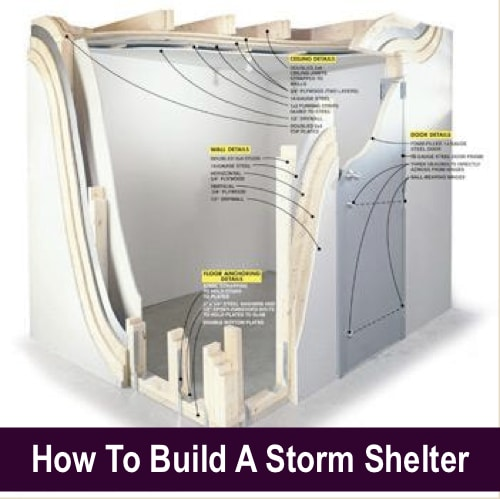 Diy above ground tornado shelter bing images for How to find a good home builder