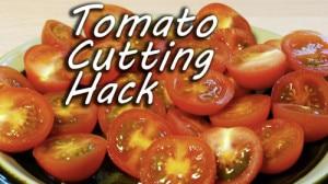 How To Cut Cherry Tomatoes Like A Ninja