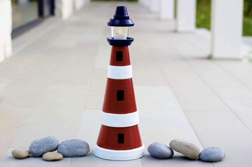 How-To-Make-A-Clay-Pot-Lighthouse