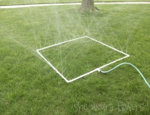 How To Make Your Own Super Fun Water Sprinkler