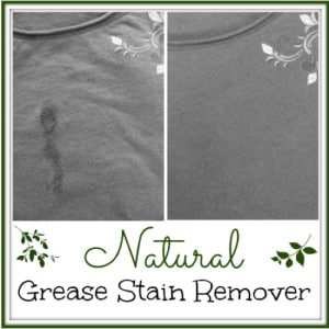 How To Remove Grease Stains With One Natural Ingredient
