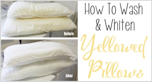How-To-Wash-And-Whiten-Yellowed-Pillows