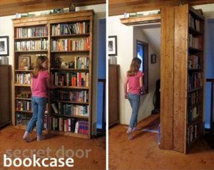 How To Build A Sliding Door Bookshelf For Your Secret Room