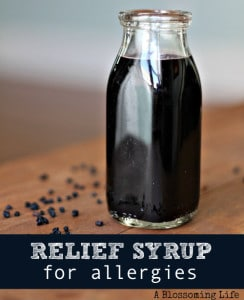 Treat Allergies With Relief Syrup