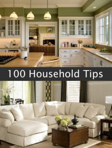 100 Household Tips