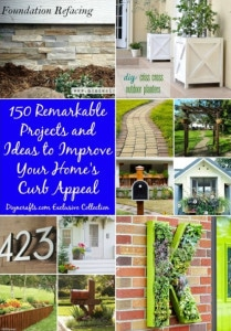 150 Remarkable Projects & Ideas To Improve Your Home's Curb Appeal