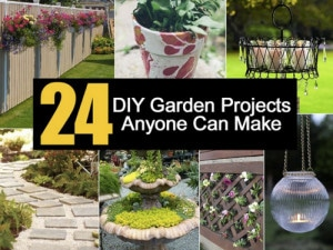 24 DIY Garden Design Projects Anyone Can Make